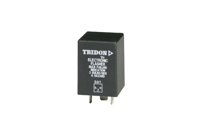 Flasher Relay 3 Terminal Electronic