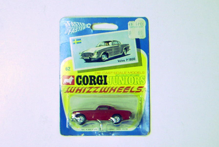 Corgi Jr 1800S Whizzwheels Red On Card